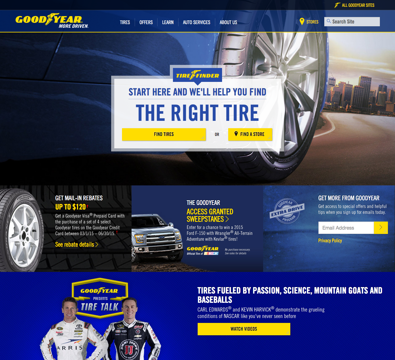 goodyear essay Executive summary: goodyear faces many issues with the launch of its aquatred brand, but the most complex decision pertains to its channel strategy based on the case analysis, goodyear should continue to utilize its traditional distribution channels f.