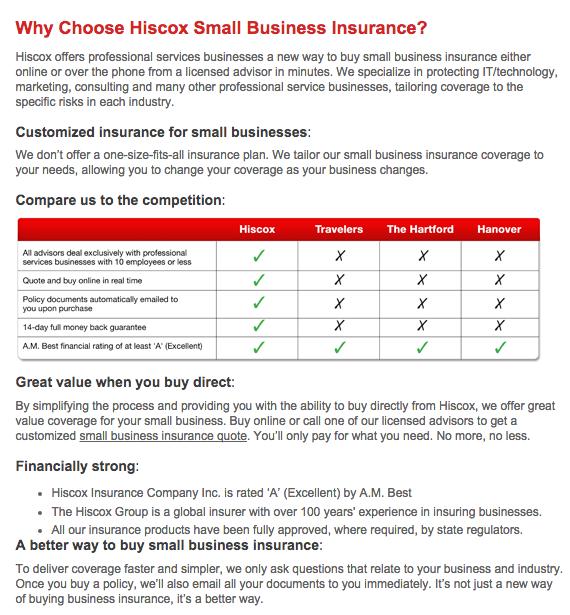 Hiscox Small Business Insurance Review 2017 | ConsumerAffairs