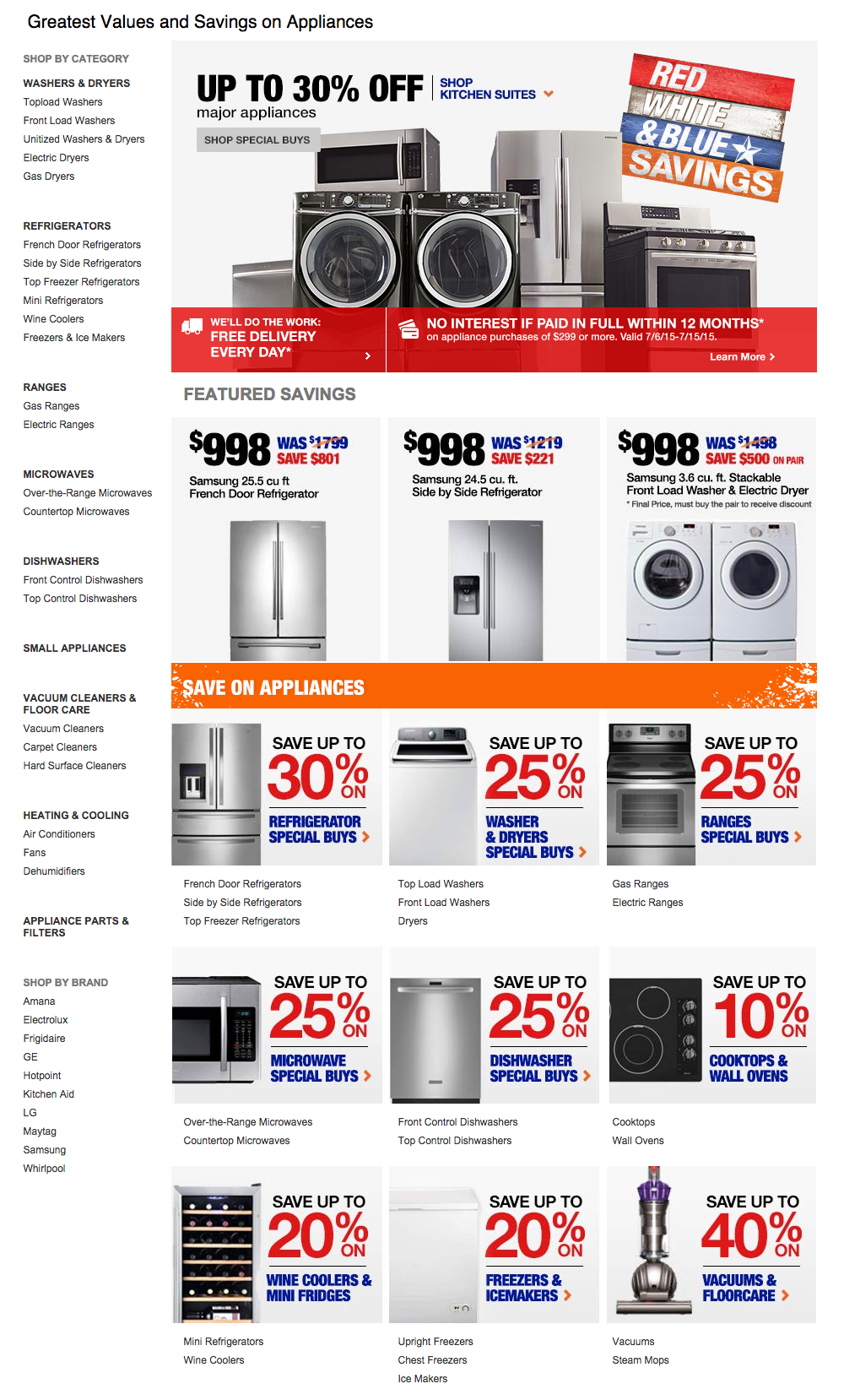 delightful Home Depot Kitchen Appliances Sale #10: Home Depot Appliances Images