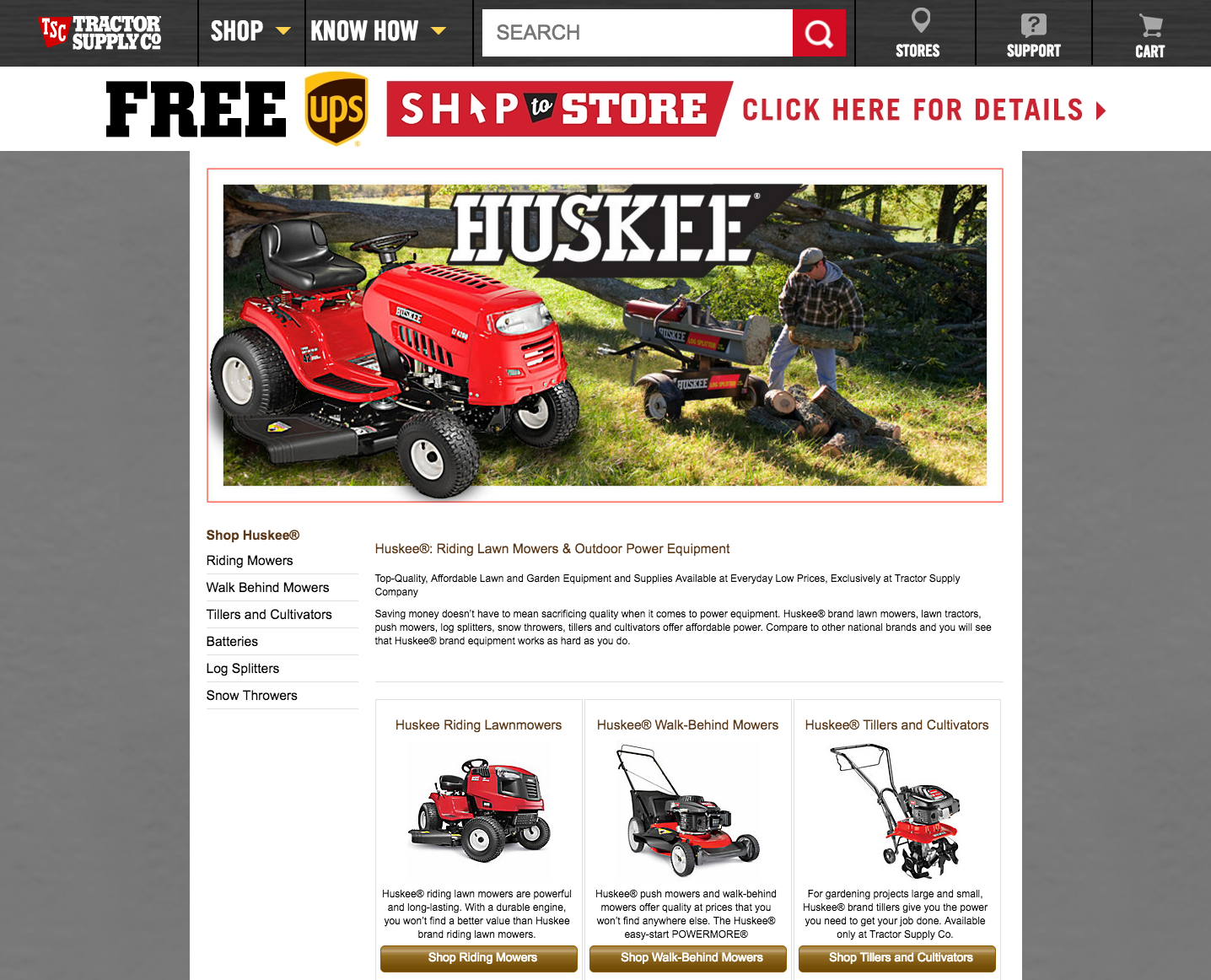 Top 92 Complaints and Reviews about Huskee