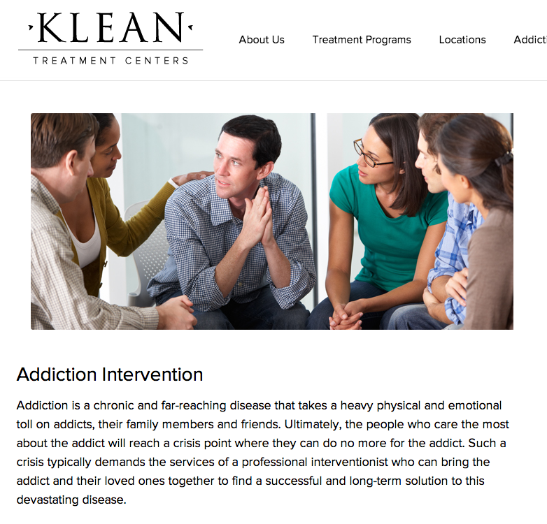 intervention addiction and treatment Our san francisco bay area services include, alcohol & drug intervention, sober  living relapse prevention, & drug & alcohol addiction therapy.