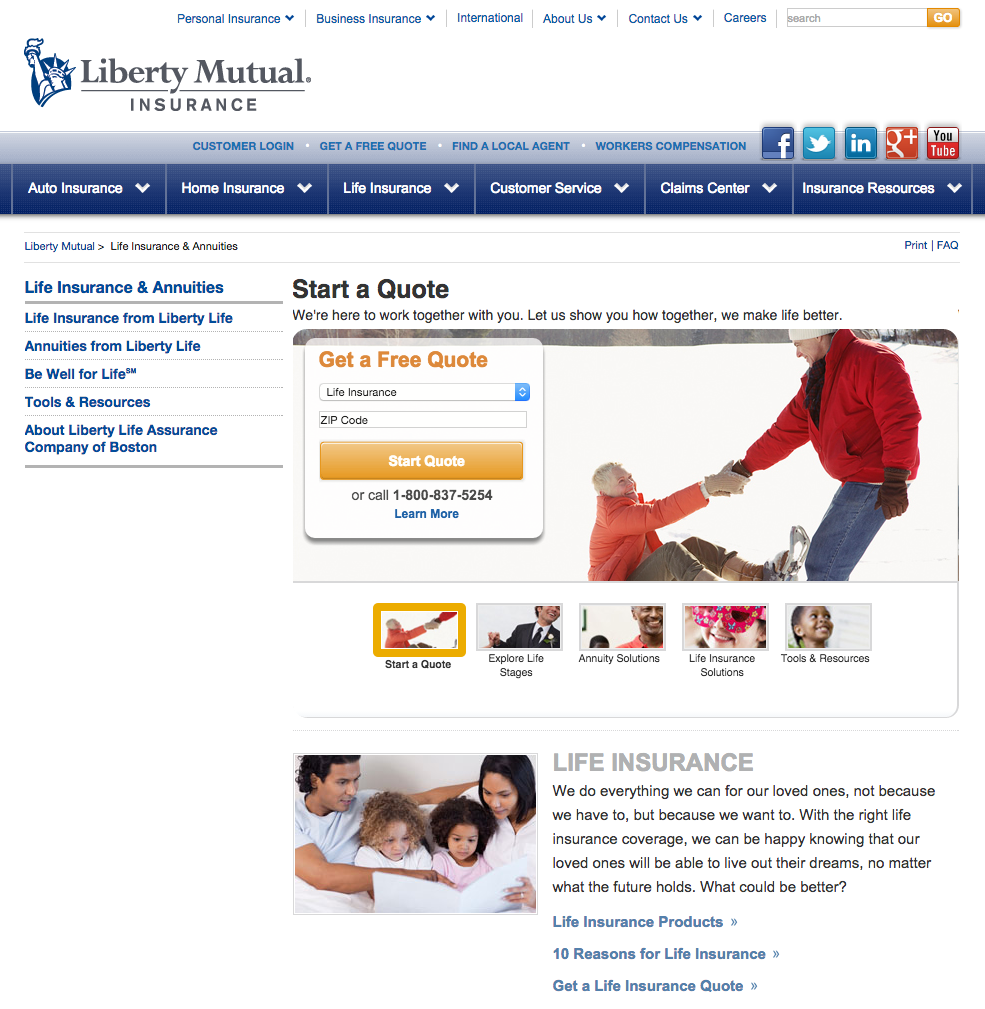 Liberty Mutual Life Insurance Quotes: Top 20 Reviews And Complaints About Liberty Mutual Life