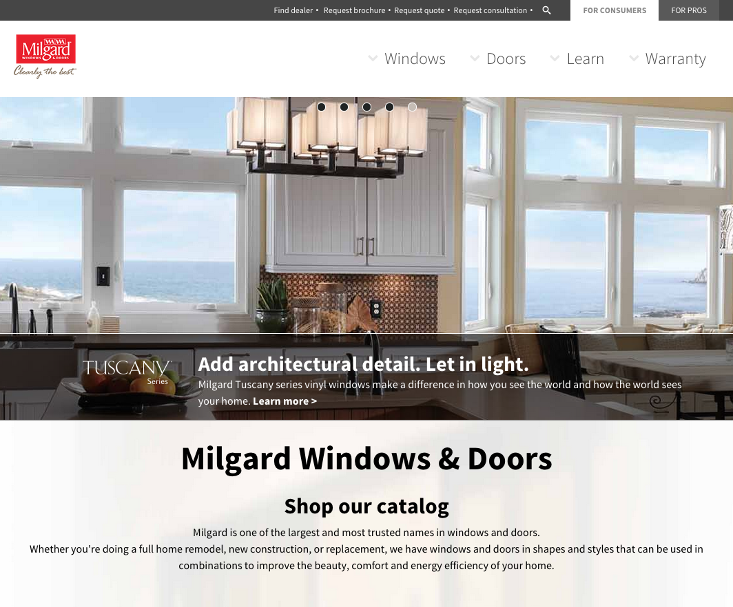 Top 161 complaints and reviews about milgard for Milgard energy efficient windows