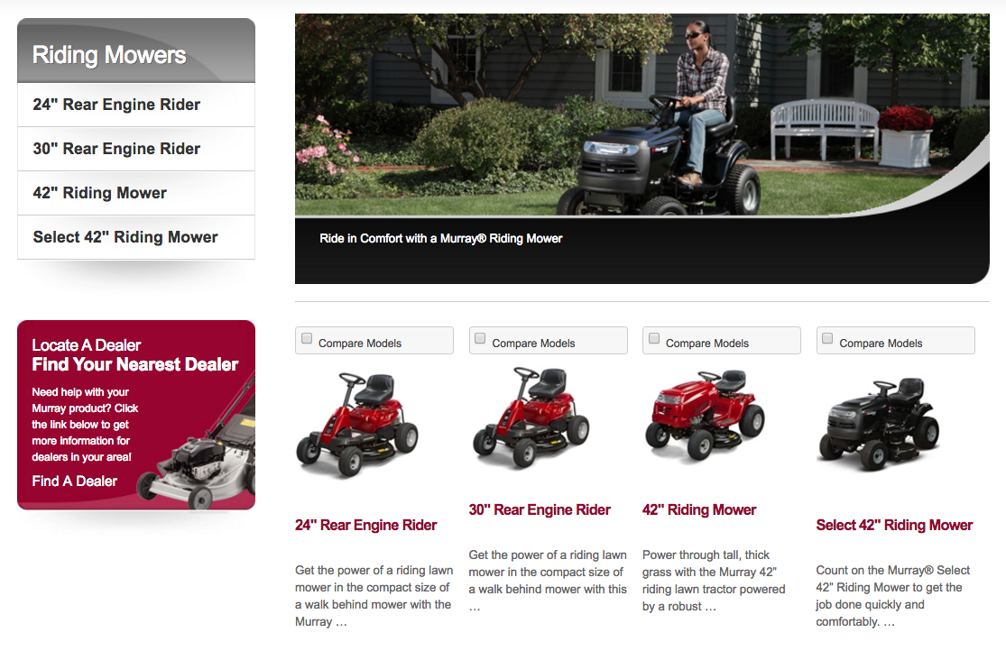 Riding lawn mower won t start - Murray Lawn Mowers Images