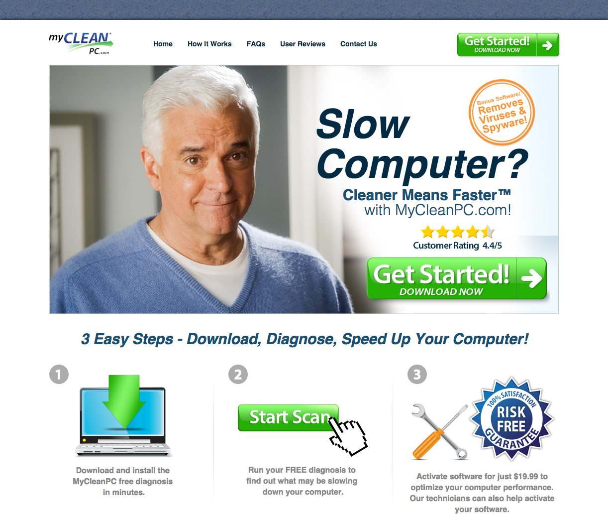 top 82 complaints and reviews about mycleanpc com mycleanpc homepage mycleanpc information