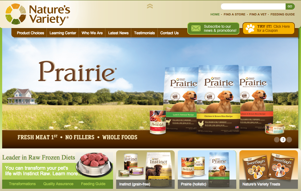 Nature's Variety Dog Food | Review | Rating | Recalls
