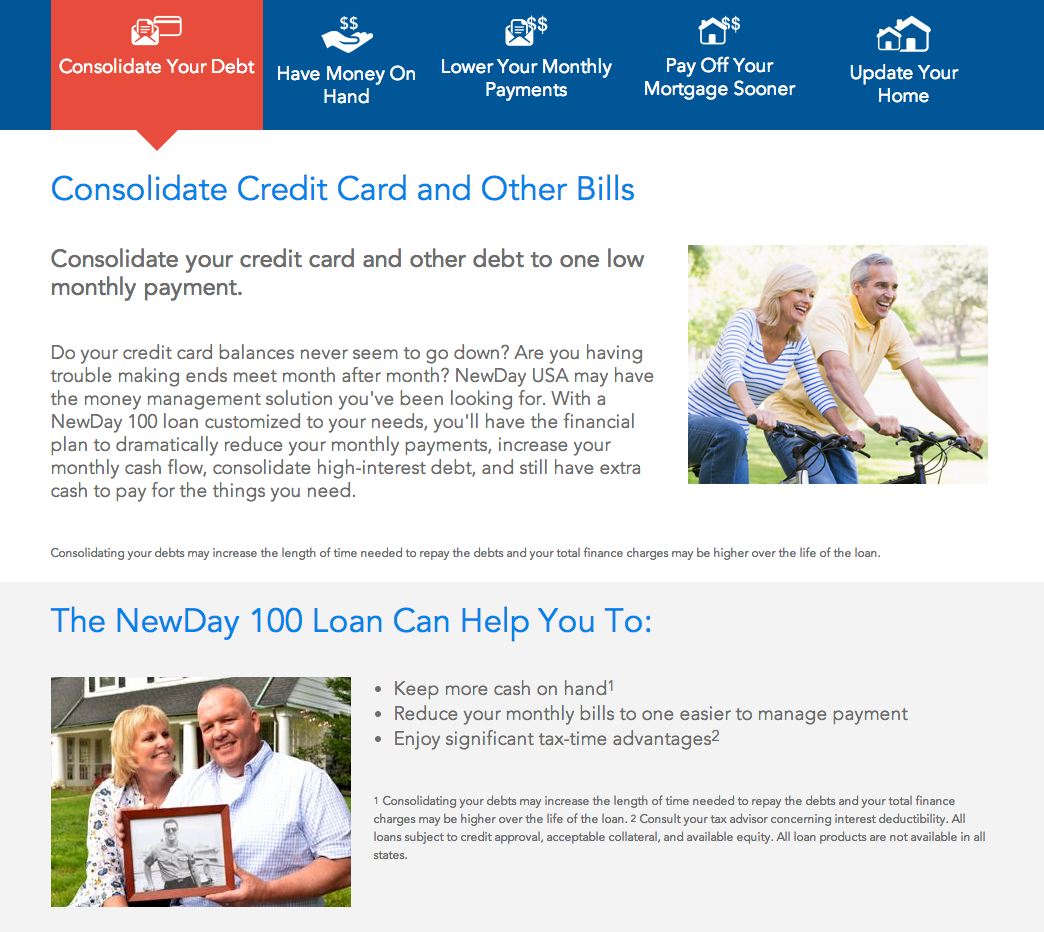 top 63 complaints and reviews about newday usa