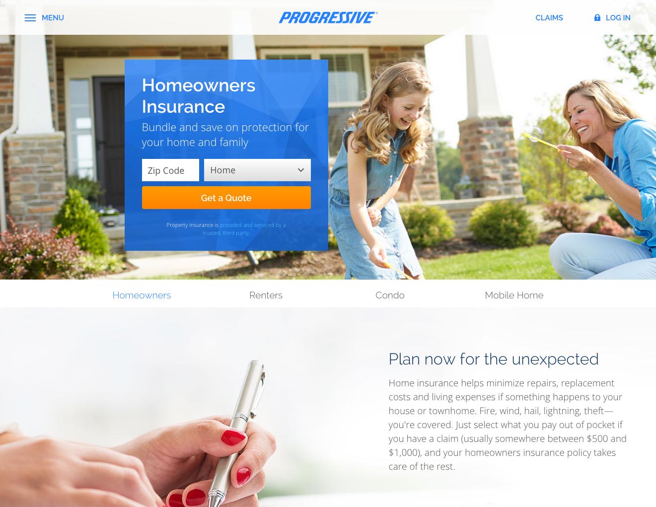 Progressive Home Insurance Quote Progressive Homeowners Insurance  Insurance Companies In Dubai