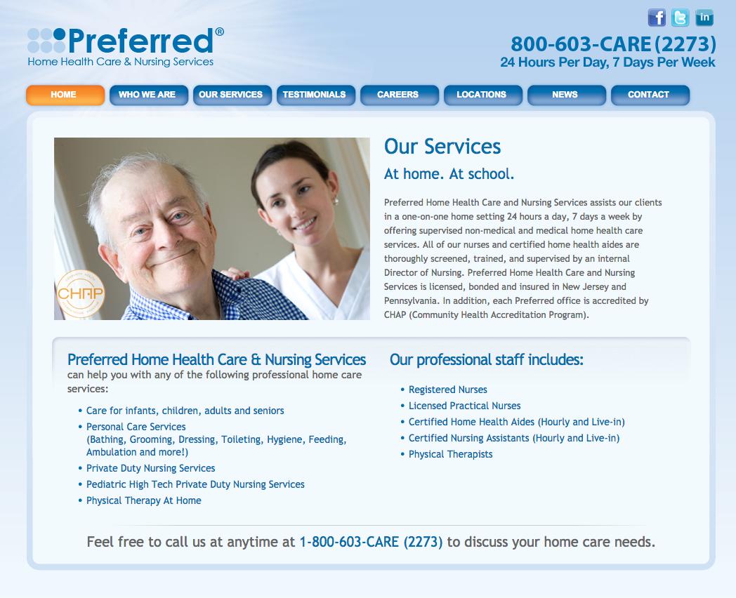 Preferred Home Care Nj