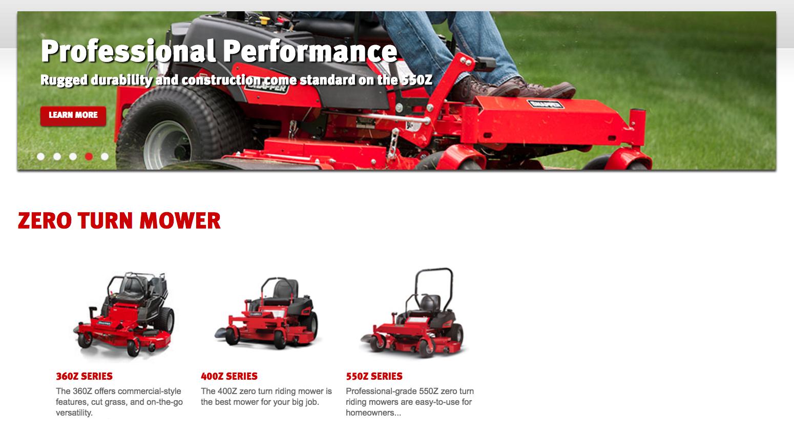 Riding lawn mower won t start - Snapper Zero Turn Mowers
