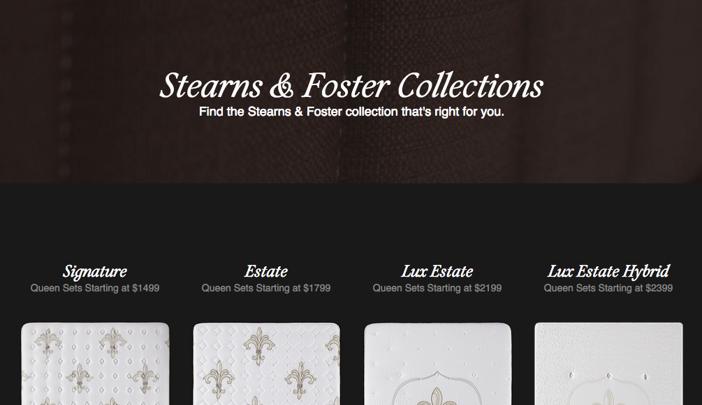 Top 313 Complaints And Reviews About Stearns Foster Bedding
