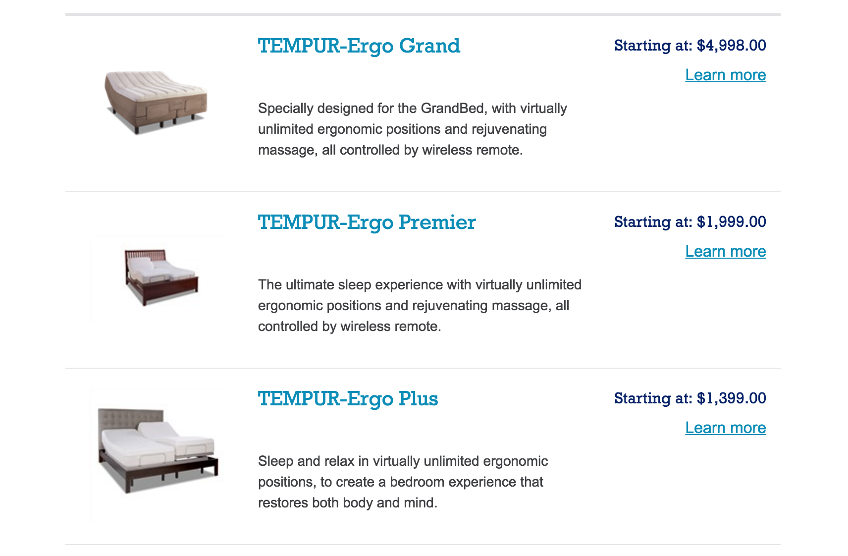 top 35 complaints and reviews about tempur-pedic adjustable beds