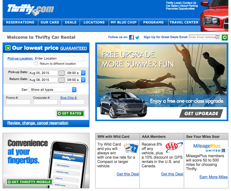 Top 909 Reviews and Complaints about Thrifty Car Rental