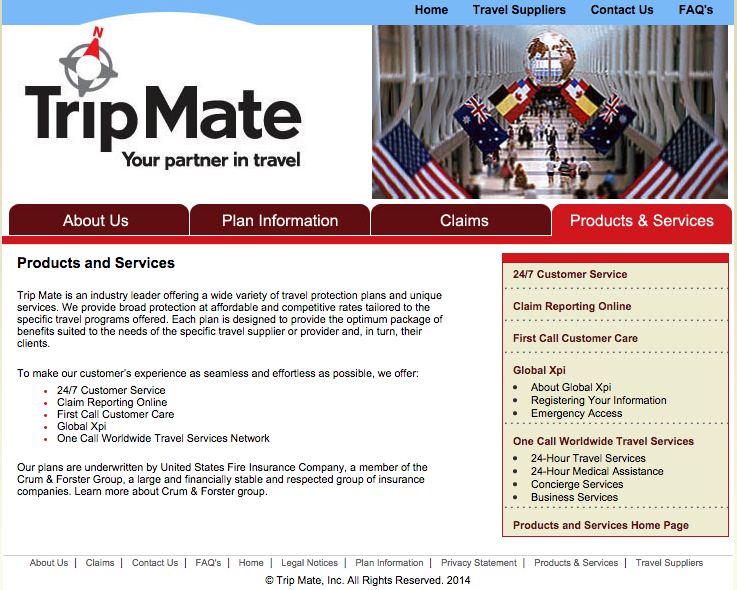 Top 166 Complaints And Reviews About Trip Mate Insurance
