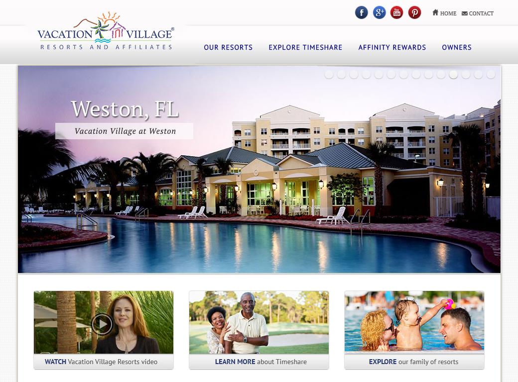 Vacation village resorts images