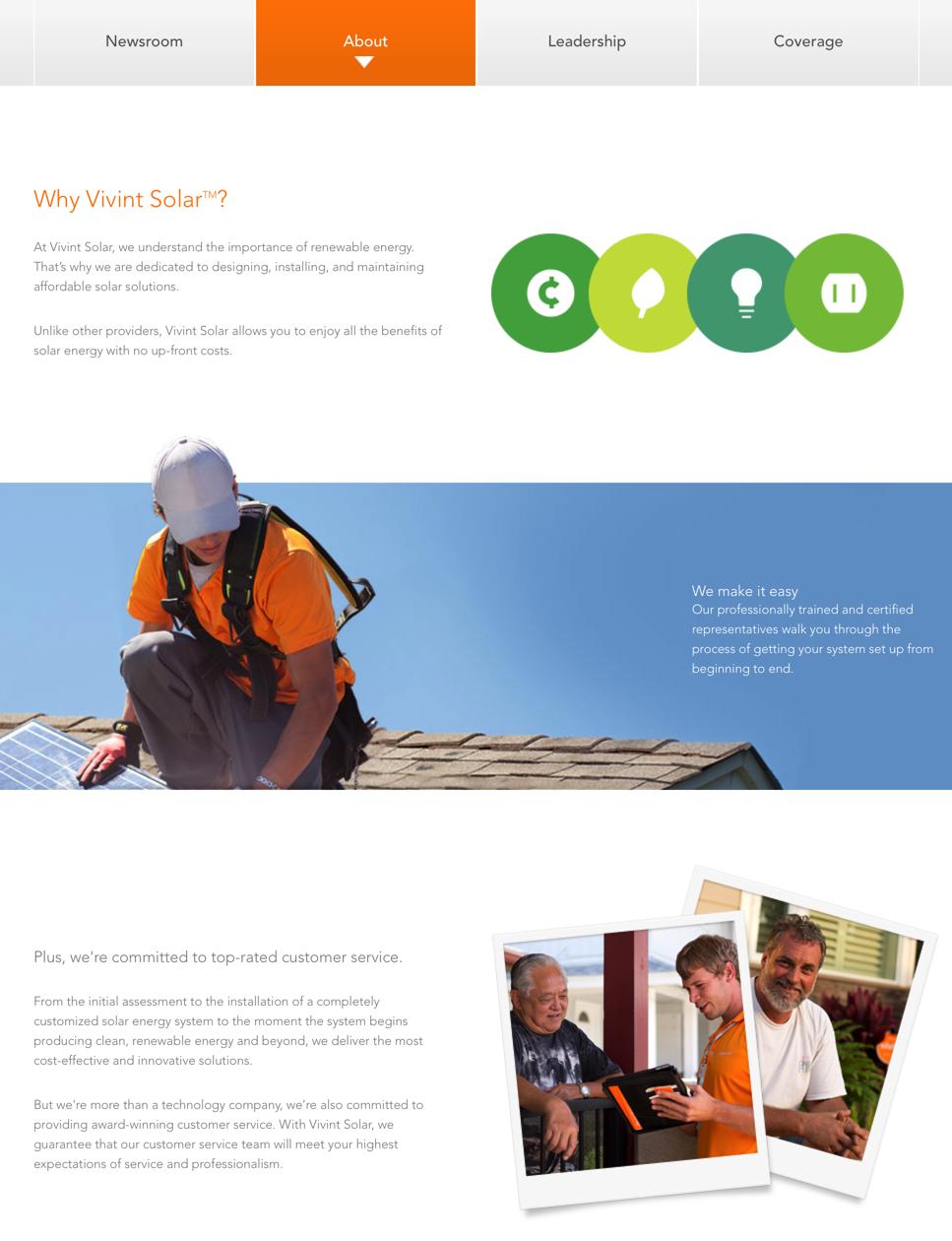 vivint solar review 2017 consumeraffairs page 2 about vivint solar