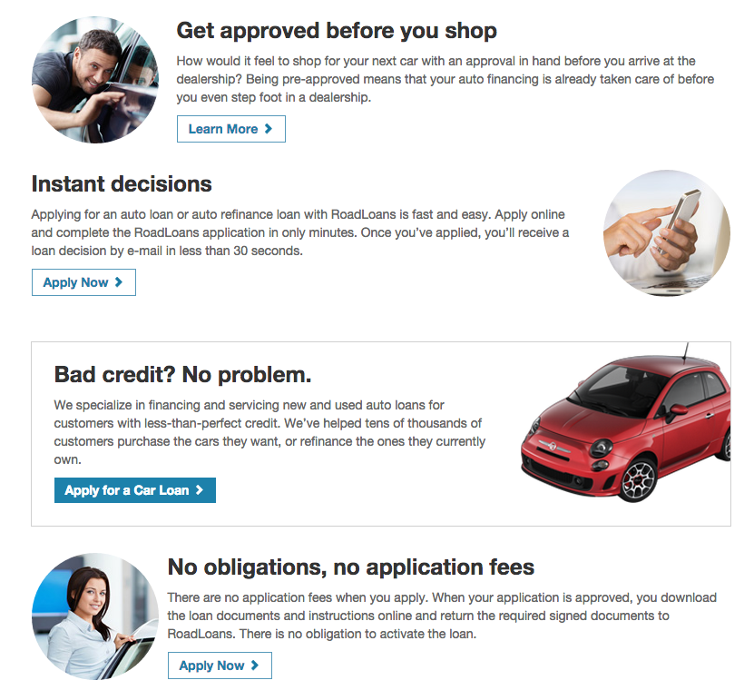 Top 169 Reviews and Complaints about RoadLoans.com