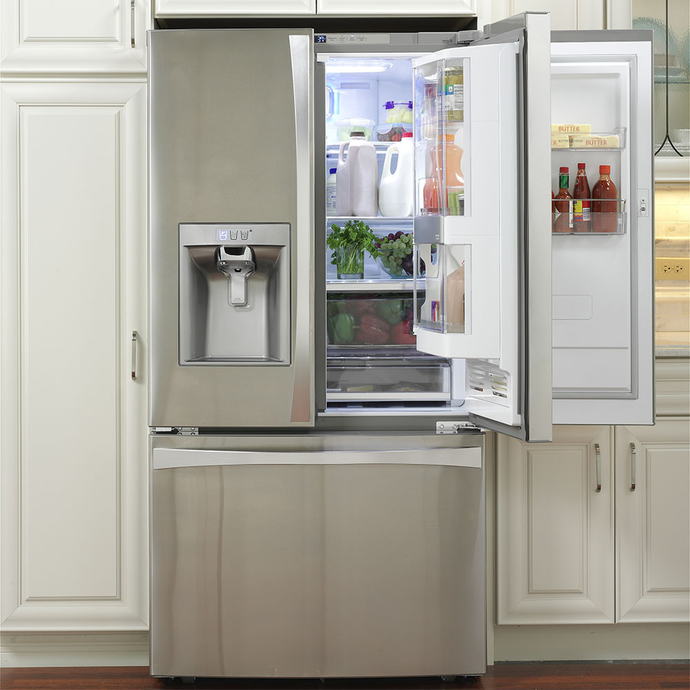 superior Kenmore Kitchen Appliances Reviews #2: Side-by-Side with Grab-n-Go door