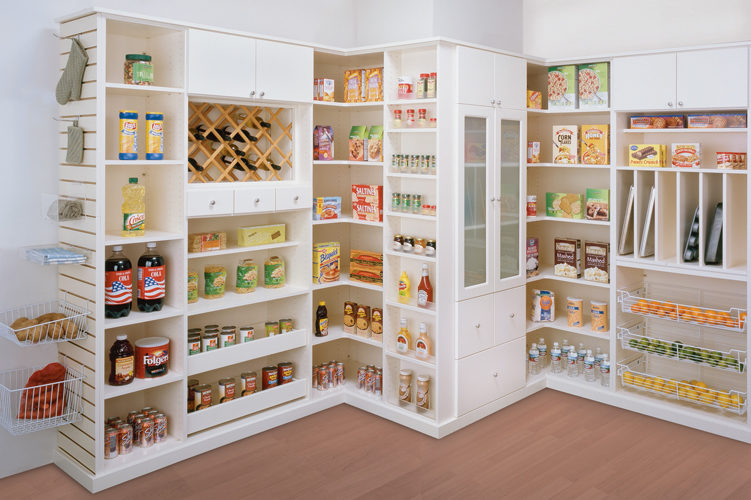 Awesome Pantries With Best Walk In Closets The World