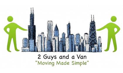 2 Guys and a Van logo