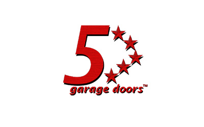5 Star Garage Door logo