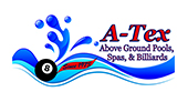 A-Tex Above Ground Pools, Spas & Billiards logo