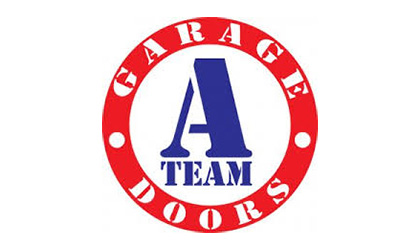 A Team Garage Doors logo
