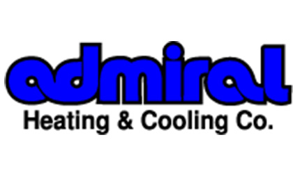 Admiral Heating and Cooling Company logo