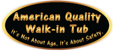 American Quality Walk-In Tub logo