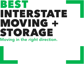 Best Interstate Moving and Storage logo
