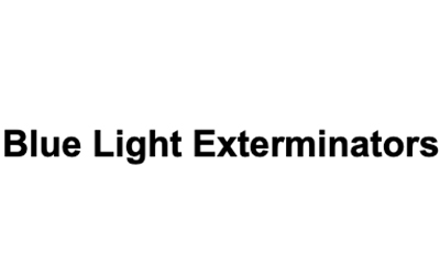 Blue Light Exterminators logo