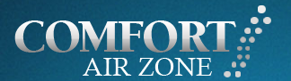 Comfort Air Zone Heating and Air Conditioning logo