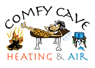 Comfy Cave Heating & Air logo