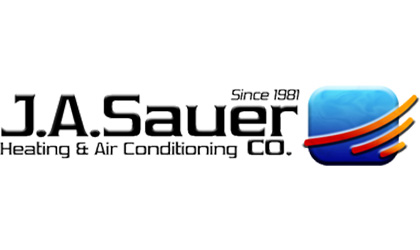 J.A. Sauer, Co. Heating & Air Conditioning logo