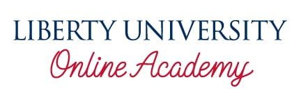 Liberty University Online Academy logo