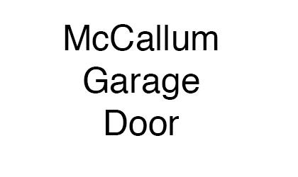 McCallum Garage Door logo
