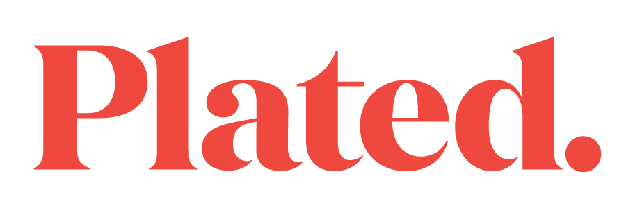 Plated logo