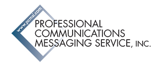 Professional Communications Messaging Service logo