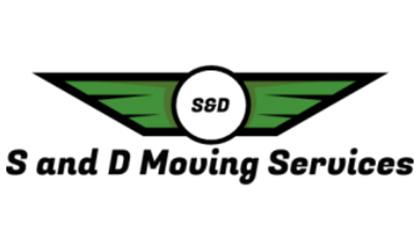 S & D Moving Company logo