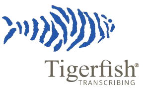 Tigerfish Transcribing logo