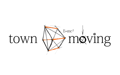 Town Moving logo