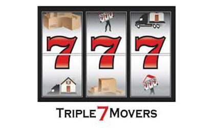 Triple 7 Movers logo
