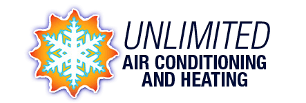 Unlimited Air Conditioning and Heating logo