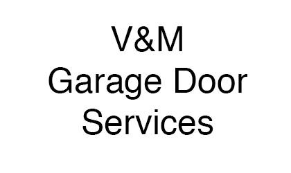 V&M Garage Door Services logo