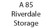 A 85 Riverdale Storage logo