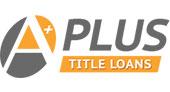 A Plus Title Loans logo