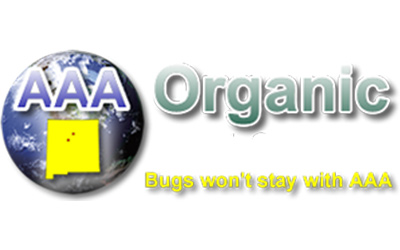 AAA Organic Pest Control logo