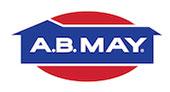 A.B. May Plumbing logo
