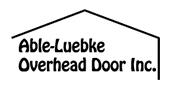 Able-Luebke Overhead Doors logo