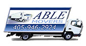 Able Moving Company logo